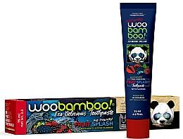 Parfémy, Parfumerie, kosmetika Zubní pasta Fruit Splash s fluorem - Woobamboo Fruit Splash Toothpaste With Fluoride
