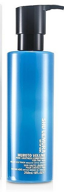 Kondicionér dodávající objem tenkým vlasům - Shu Uemura Art of Hair Muroto Volume Pure Lightness Conditioner — foto N3