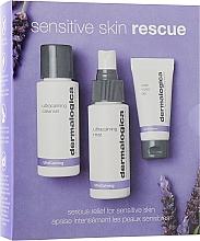 Parfémy, Parfumerie, kosmetika Sada - Dermalogica Sensitive Skin Rescue (gel/50ml + spray/50ml + gel/15ml)