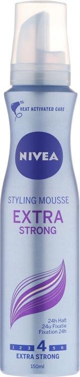 Pěna na vlasy - Nivea Extra Strong Styling Mousse — foto N1