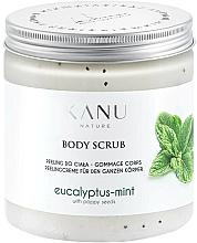 Parfémy, Parfumerie, kosmetika Peeling na nohy Eukalyptus s mátou - Kanu Nature Eucalyptus With Mint Body Scrub