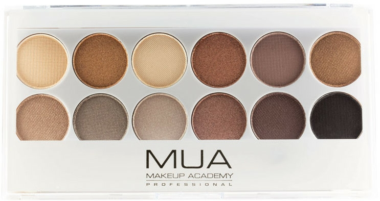 Paleta očních stínů - MUA Undress Me Too Eyeshadow Palette