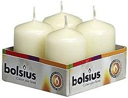 Parfémy, Parfumerie, kosmetika Válcová svíčka, slonová kost, 60x40 mm - Bolsius Candle
