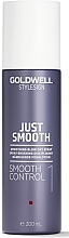 Parfémy, Parfumerie, kosmetika Vyhlazující sprej pro styling vlasů - Goldwell Style Sign Just Smooth Control Blow Dry Spray