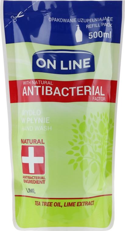"""Tekuté mýdlo """"Lime"""" - On Line Lime Liquid Soap (Refill)"""