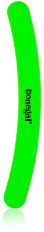 Zakřivený pilník na nehty Neon Play, 2044, světle zelený - Donegal — foto N1