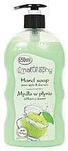 Parfémy, Parfumerie, kosmetika Tekuté mýdlo na ruce Jablko a aloe vera - Bluxcosmetics Naturaphy Hand Soap