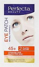Parfémy, Parfumerie, kosmetika Hydrogelové náplasti pod oči - DAX Perfecta Eye Patch 45+
