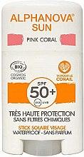 Parfémy, Parfumerie, kosmetika Opalovací krém v tyčince - Alphanova Sun Pink Coral SPF50+