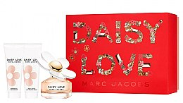 Parfémy, Parfumerie, kosmetika Marc Jacobs Daisy Love - Sada (edt/50ml + sh/gel/75ml + b/milk/75ml)