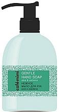 Parfémy, Parfumerie, kosmetika Jemné mýdlo na ruce Aloe a verbena - Cafe Mimi Gentle Hand Soap