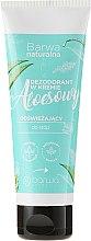 Parfémy, Parfumerie, kosmetika Osvěžující deodorant-krém na nohy - Barwa Natural Aloe Deodorant Cream