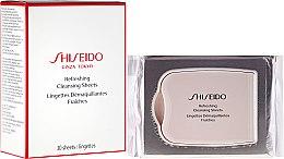 Parfémy, Parfumerie, kosmetika Osvěžující čistící ubrousky - Shiseido Refreshing Cleansing Sheets