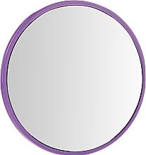 Parfémy, Parfumerie, kosmetika Kompaktní kulaté zrcátko, 9511,7 cm, fialové - Donegal