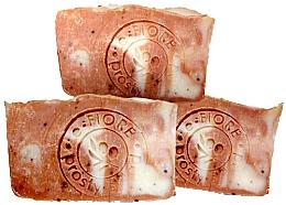 Parfémy, Parfumerie, kosmetika Přírodní ručně vyrobené mýdlo Malina a ovesné mléko - E-Fiore Natural Soap Raspberry And Oat Milk