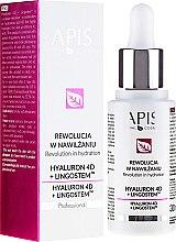 Parfémy, Parfumerie, kosmetika Hydratační emulze na obličej - APIS Professional 4D Hyaluron + Lingostem