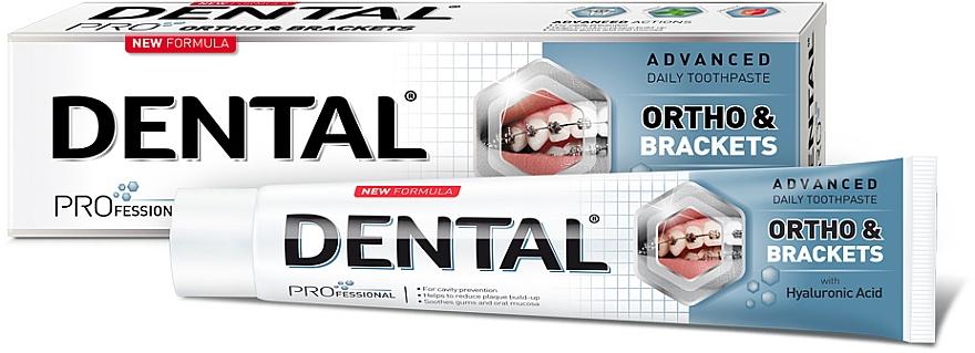 Zubní pasta pro důkladné čištění zubů - Dental Pro Ortho&Brackets
