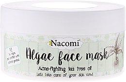 "Parfémy, Parfumerie, kosmetika Alginátová maska na obličej ""Zelený čaj"" - Nacomi Professional Face Mask"