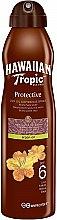Parfémy, Parfumerie, kosmetika Suchý opalovací olej - Hawaiian Tropic Protective Dry Oil Continuous Spray Aragan Oil SPF 6