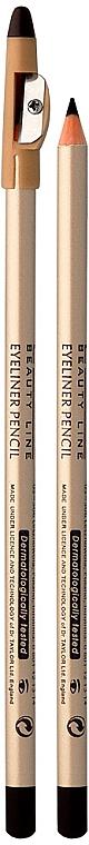 Konturovací tužka na oči s aplikátorem - Eveline Cosmetics Eyeliner Pencil