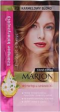 Parfémy, Parfumerie, kosmetika Tónovací šampon na vlasy bez amoniaku a peroxidu vodíku - Marion