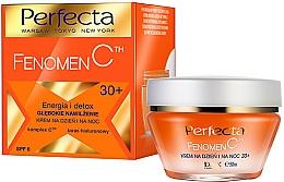 """Parfémy, Parfumerie, kosmetika Hluboký hydratační krém na obličej """"Energie a Detox"""" - Perfecta Fenomen C Cream 30+ SPF 6"""