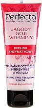 Parfémy, Parfumerie, kosmetika Enzymový peeling na obličej Bobule Goji a vitamíny - Perfecta