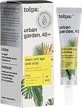 Parfémy, Parfumerie, kosmetika Krém pod oči - Tolpa Urban Garden 40+ Anti-Age Eye Cream