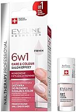Parfémy, Parfumerie, kosmetika Zpevňující lak na nehty 6v1 - Eveline Cosmetics Nail Therapy Professional