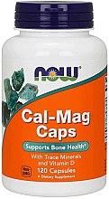 Parfémy, Parfumerie, kosmetika Anti age kapsle - Now Foods Cal-Mag Caps