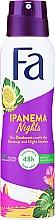 Parfémy, Parfumerie, kosmetika Deodorant ve spreji Ipanema Nights - Fa Ipanema Nights Deo Spray