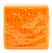 Parfémy, Parfumerie, kosmetika Mýdlo - Le Chatelard 1802 Soap Cinnamon Orange