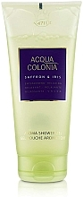 Parfémy, Parfumerie, kosmetika Maurer & Wirtz 4711 Acqua Colonia Saffron & Iris - Sprchový gel