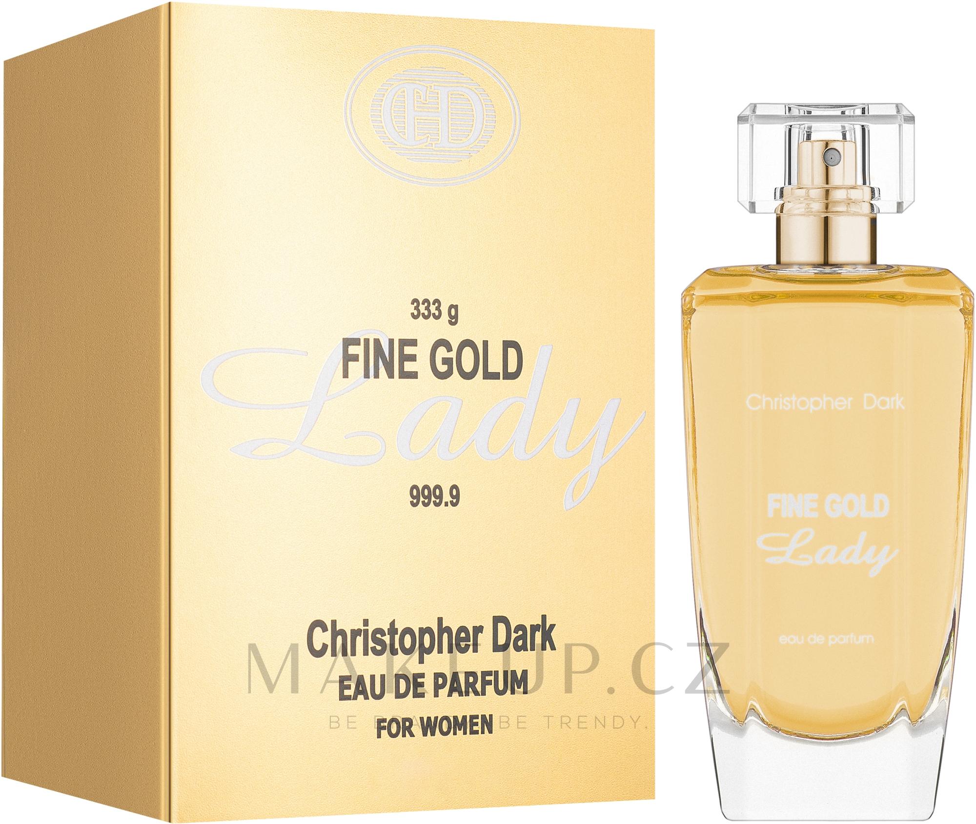 Christopher Dark Fine Gold Lady - Parfémovaná voda — foto 100 ml