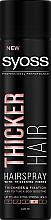 Parfémy, Parfumerie, kosmetika Lak na vlasy s vlákny pro zesílení vlasů extra silné fixace - Syoss Thicker Hair