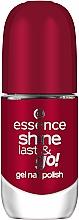 Parfémy, Parfumerie, kosmetika Lak na nehty s gelovým efektem - Essence Shine Last & Go! Gel Nail Polish