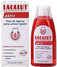 """Parfémy, Parfumerie, kosmetika Ustní voda """"Aktiv"""" - Lacalut Aktiv"""