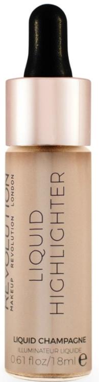 Tekutý rozjasňovač na obličej - MakeUp Revolution Liquid Highlighter