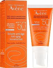 Parfémy, Parfumerie, kosmetika Opalovací krém na obličej se suchým stínem - Avene Solaire Anti-Age SPF 50 +
