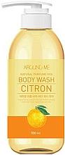 Parfémy, Parfumerie, kosmetika Sprchový gel s citrusovým extraktem - Welcos Around Me Natural Perfume Vita Body Wash Citron