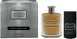 Parfémy, Parfumerie, kosmetika Trussardi Riflesso - Sada (edt/100ml + deo/75g)
