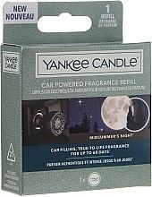 Parfémy, Parfumerie, kosmetika Vůně do auta - Yankee Candle Car Powered Aroma Refill Midsummer's Night