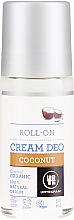 Parfémy, Parfumerie, kosmetika Válečkový deodorant ''Kokos'' - Urtekram Coconut Cream Deodorant Roll-on