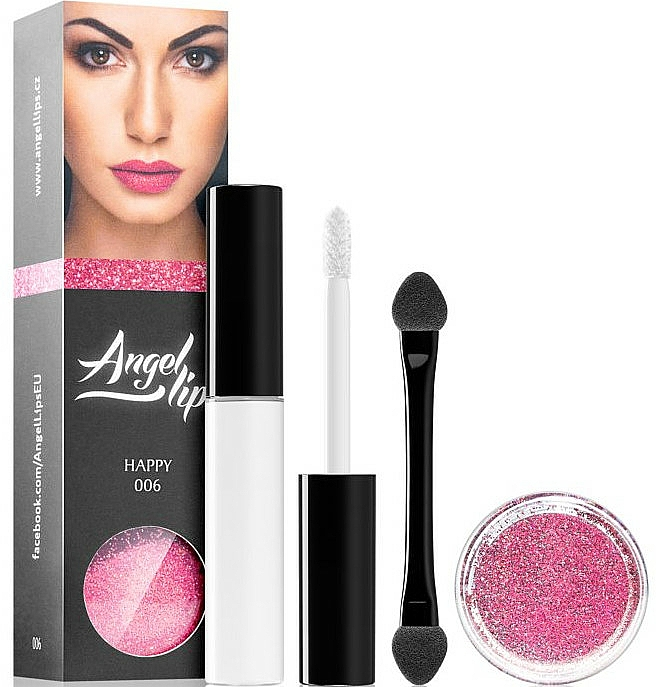 Sada - Di Angelo Angel Lips (base/4ml + glitter/3g) (002 – Seductive)
