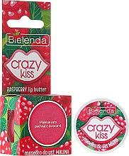 """Parfémy, Parfumerie, kosmetika Olej na rty """"Malina"""" - Bielenda Crazy Kiss Raspberry Lip Butter"""