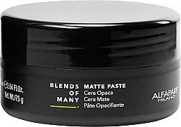 Parfémy, Parfumerie, kosmetika Matná pasta na vlasy se středně silnou fixací - Alfaparf Milano Blends Of Many Matte Paste