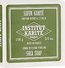 Parfémy, Parfumerie, kosmetika Mýdlo - Institut Karite Lemon Verbena Shea Soap