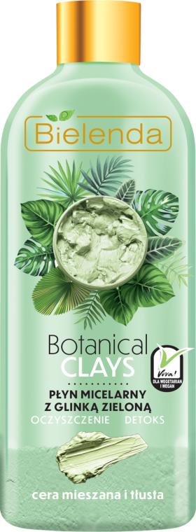 Micelární tekutina na základě zelené hlíny - Bielenda Clays