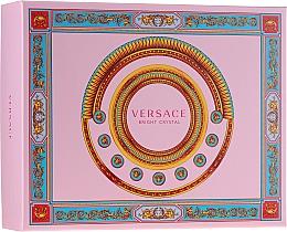 Parfémy, Parfumerie, kosmetika Versace Bright Crystal - Sada (edt/50ml + b/lot/50ml + sh/gel/50ml)