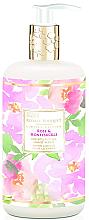 Parfémy, Parfumerie, kosmetika Tekuté mýdlo na ruce - Baylis & Harding Royale Bouquet Rose and Honeysuckle Hand Wash